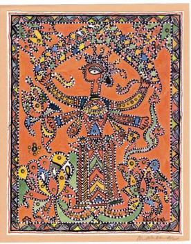 Madhubani Art - History - Background